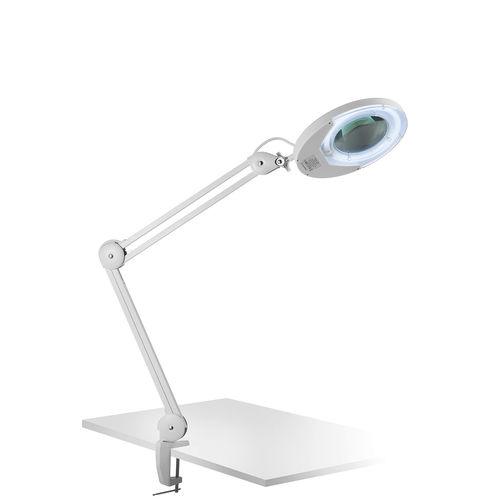 Tischlampe / modern / Aluminium / Lupen