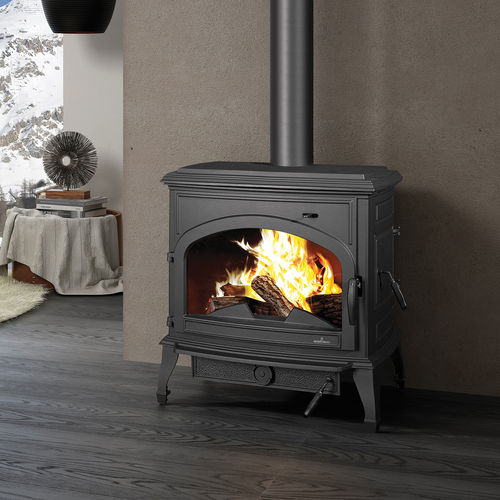 Holz-Kaminofen / Multibrennstoff / Holzkohle / traditionell