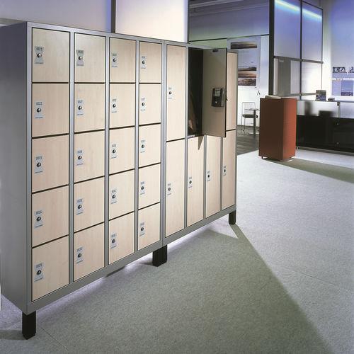 Stahl-Garderobenschrank / für öffentliche Einrichtungen / für Sportanlagen / für Büro