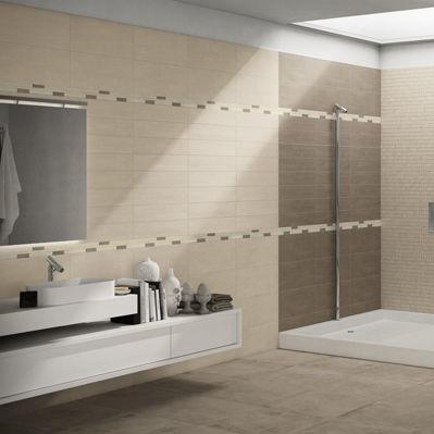 Badezimmer-Fliesen / Für Böden / Feinsteinzeug / Uni - Start