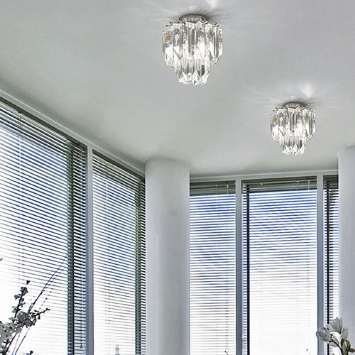 moderne Deckenleuchte / Glas / fluoreszierend / für Privatgebrauch