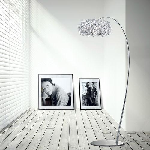 Stehleuchte / modern / Metall / aus Kristall