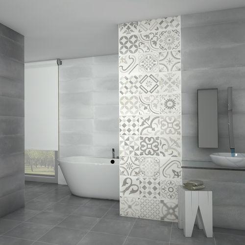 Badezimmer-Fliesen / Wand / Keramik / 25x75 cm