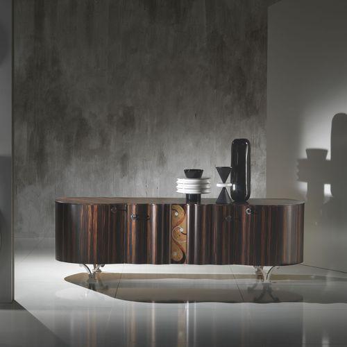 Sideboard / originelles Design / aus Ebenholz