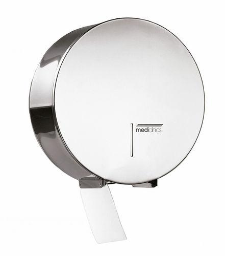 wandmontierter Toilettenpapierhalter / Edelstahl / Objektmöbel