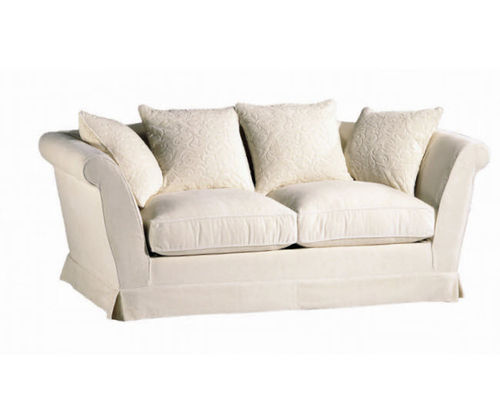 klassisches Sofa / Landhausstil / Stoff / 2 Plätze