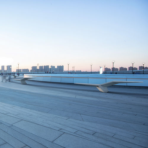 Parkbank / originelles Design / Hochleistungs Beton