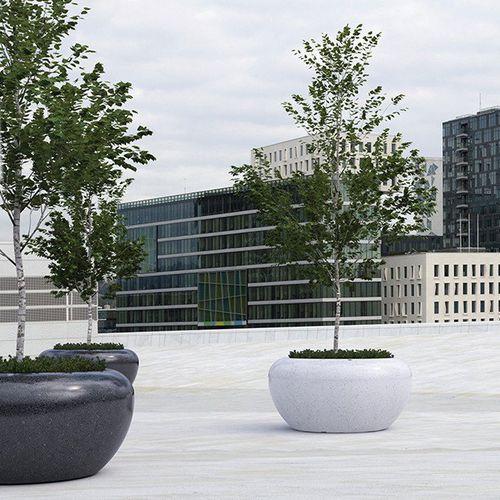 Beton-Pflanzkübel / Naturstein / Marmor / Granit