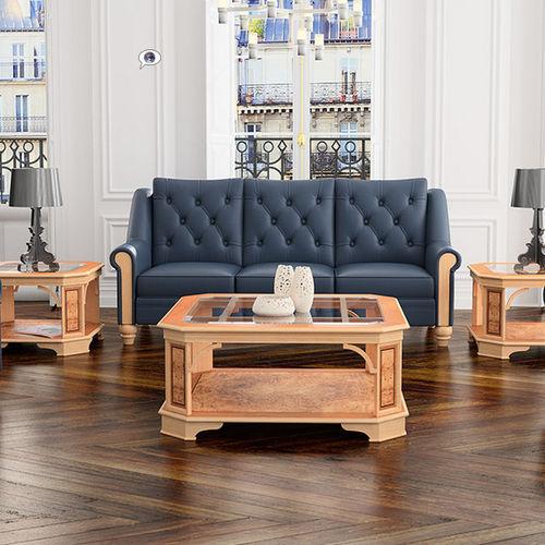 klassisches Sofa / Leder / Objektmöbel
