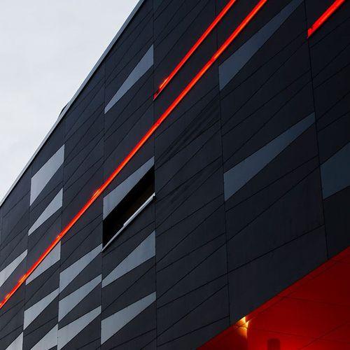 Fassadenverkleidung aus Verbundwerkstoff - Steni