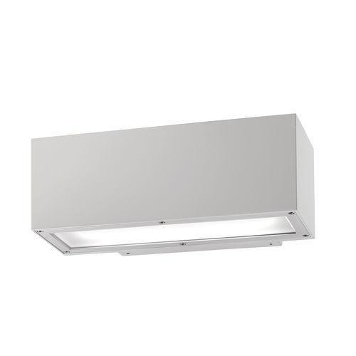 moderne Wandleuchte / Außenbereich / aus Aluminiumguss / Glas