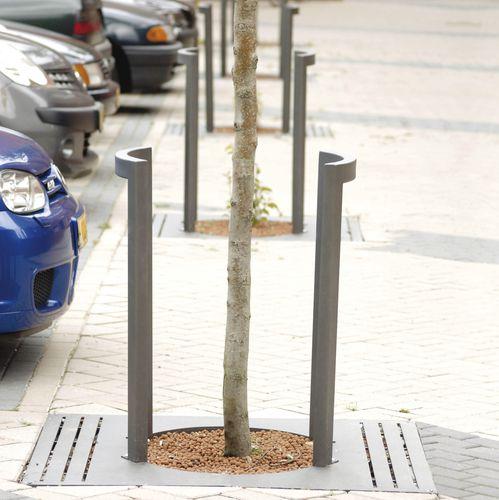 Baumschutz / verzinkter Stahl
