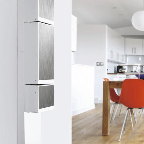 Wandmontierter Verteilerkasten / für Wohnbereich / ausgerüstet / Türen RESI9 SCHNEIDER ELECTRIC