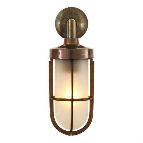 Industriestil-Wandleuchte / Außen / Messing / Glas CLADACH : MLWL053 Mullan Lighting