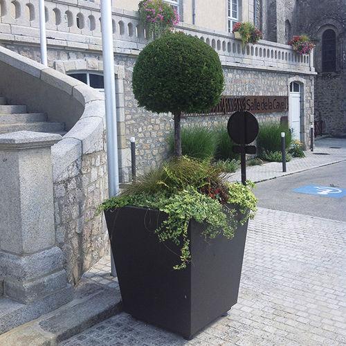 Cortenstahl-Pflanzkübel - ATECH