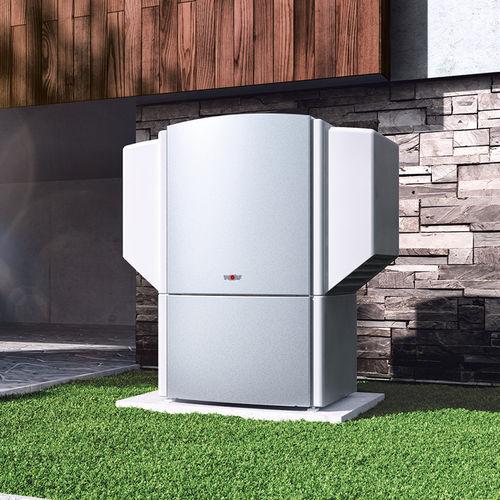 Luft/Luft-Wärmepumpe / Wohnbereich / Außenbereich / mit Warmwasserbereiter