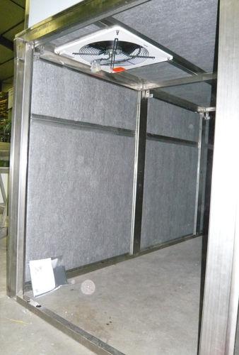 Isolierung zur Schalldämmung / Polyester / Innenbereich / in Plattenform