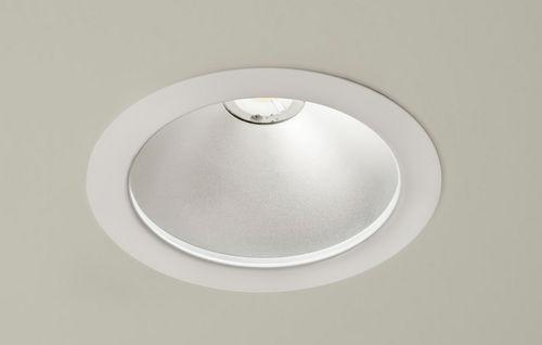 Einbaudownlight / LED / rund / Polycarbonat