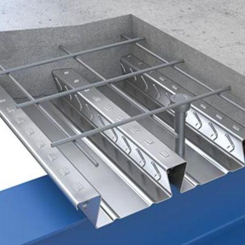Verbund-Zwischendecke / Stahl