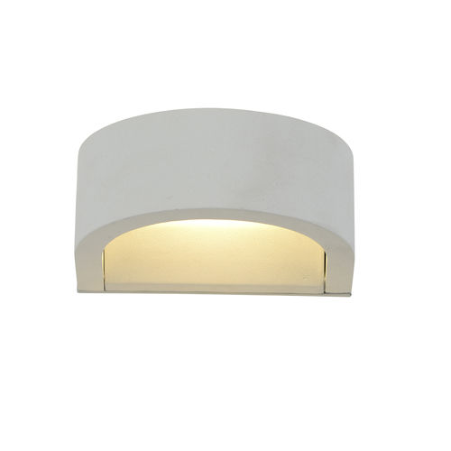 Moderne Wandleuchte / Außen / Aluminium / aus PMMA WALLY LUMITEK