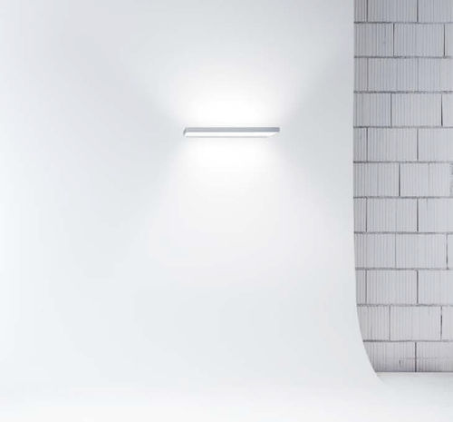 moderne Wandleuchte / Aluminium / aus PMMA / LED