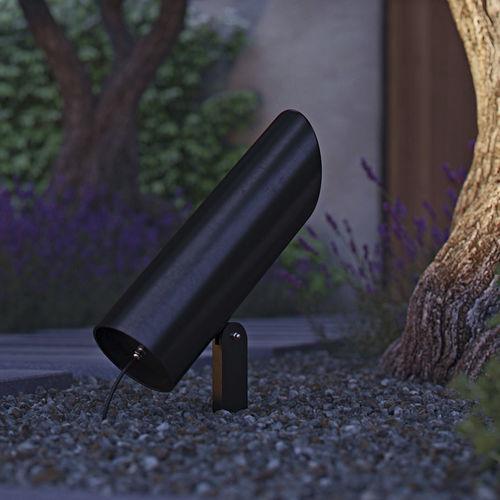 Bodenstrahler / für den Garten / LED / rund