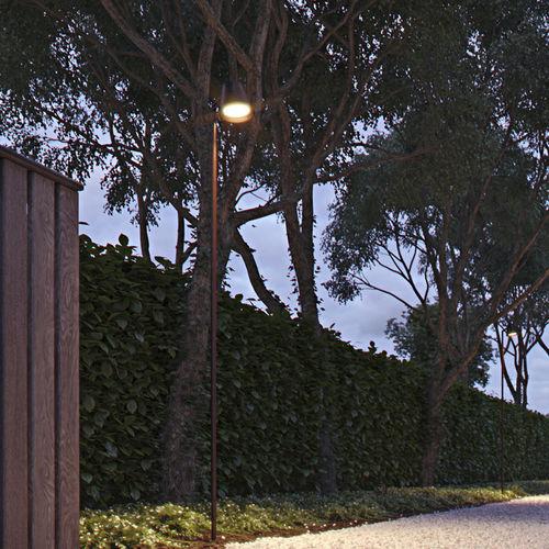 Gartenlaterne / modern / Messing / LED