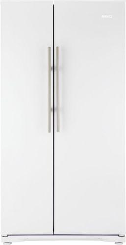 Amerikanisch-Kühlschrank / weiß