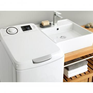 Toplader-Waschmaschine / EU-Energielabel
