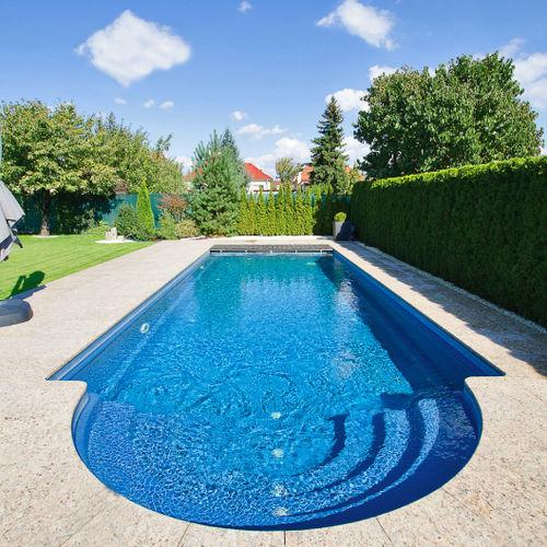 Erdverlegtes Schwimmbecken / Keramik / Rumpf / Außen JAVA SERIES COMPASS Pools
