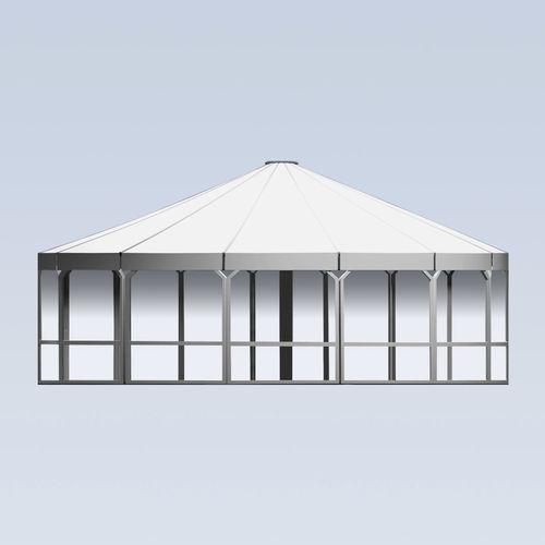 Stoffpavillon / aus Metall / Stoffdach / für Bar TYPE UB MDT