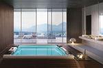 Hot-Tub / Einbau / rechteckig / 8 Plätze / für Innenbereich
