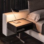 Nacht-Tisch / für Innenbereich / modern / aus Eiche CLOSE Minotti