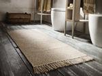 moderner Teppich / uni / rechteckig / handgemacht