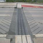 Polymerbeton-Dehnungsfuge / Verkehrs