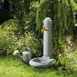 Garten-Springbrunnen / aus Kunststoff / modern