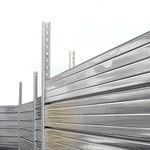 Zaun für Baustellen / Platten / aus verzinktem Stahl / Modulare  MARCEGAGLIA