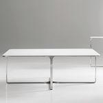 Couchtisch / modern / aus Metall / Holz ACCENT by Steve Oh BERNHARD design