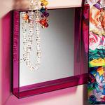 Modern Spiegel / quadratisch / aus PMMA / von Philippe Starck ONLY ME Kartell