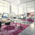 Hocker für Büro / Arbeit / modern / aus Metall MR. ROUND  Alexander Seifried Richard Lampert