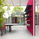 Paneel für Innenausbau / aus Holzfaser / aus Polyester