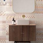 Innenraum-Fliesen / Wand / Keramik / 25x75 cm