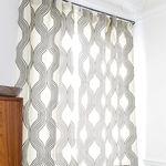 Möbelstoff / für Gardinen / Motive / Polyester COLLINS : GRAPHITE Larsen