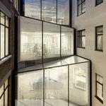 Festinstallierte Trennwand / Glas / für gewerbliche Einrichtungen / lichtdurchlässig  Cantifix