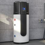 Solarwarmwasserbereiter / freistehend / vertikal / mit Wärmepumpe
