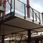 Stahlbetonbodenplatte / aus Polystyrolschaum / Brandschutz / isolierend