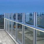 Aluminium-Handlauf / integrierte LED-Beleuchtung  FAGERHULT