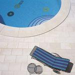 Fliesen für Poolrand / für Böden / aus Sandstein / aus Kalkstein