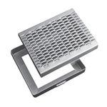 Metall-Schachtdeckel / quadratisch