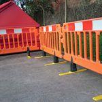 Fußgänger-Absperrung / selbsttragend / HDPE / manuell CHAPTER 8 Algeco